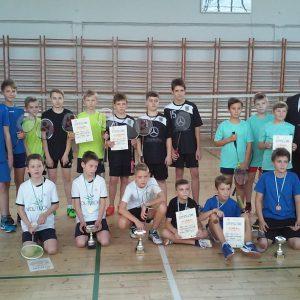 Finał rejonu w badmintonie