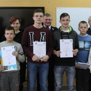 Etap gminny konkursu pożarniczego