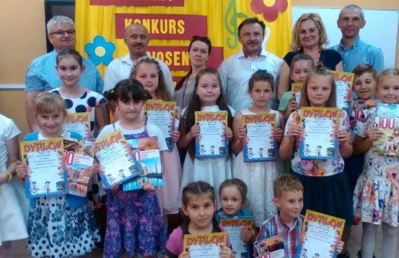 XV Gminny Festiwal Piosenki Dziecięcej