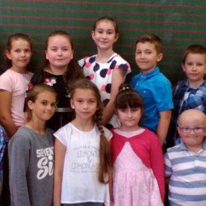 Eliminacje szkolne XV Gminnego Festiwalu Piosenki Dziecięcej