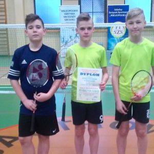 Finał województwa w drużynowym badmintonie