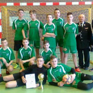 Powiatowy turniej halowej piłki nożnej MDP