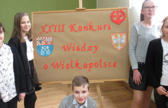 XXIII Konkursu Wiedzy o Wielkopolsce