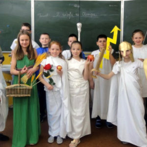 Świat greckich bogów