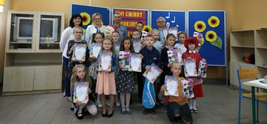 XVI Gminny Konkurs Piosenki Dziecięcej