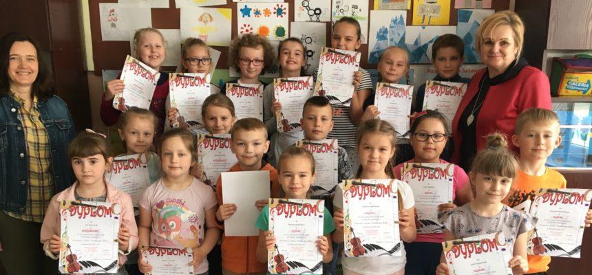 Szkolne eliminacje do Gminnego Konkursu Piosenki Dziecięcej