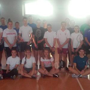 Drużynowe mistrzostwa powiatu w badmintonie