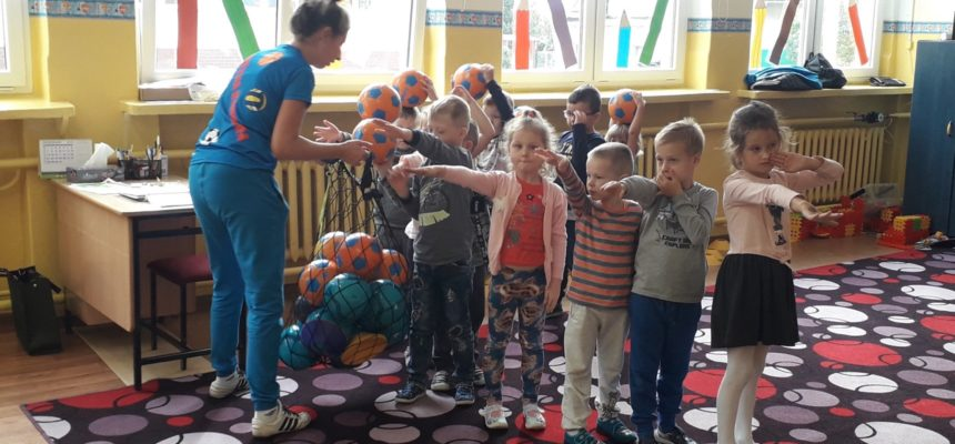 Drużyna Kangura w oddziale przedszkolnym