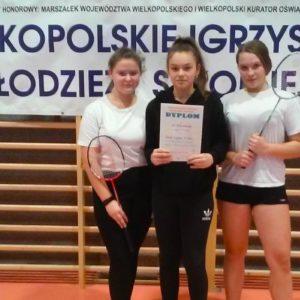 Drużynowy finał rejonu w badmintonie w kategorii dziewczyn