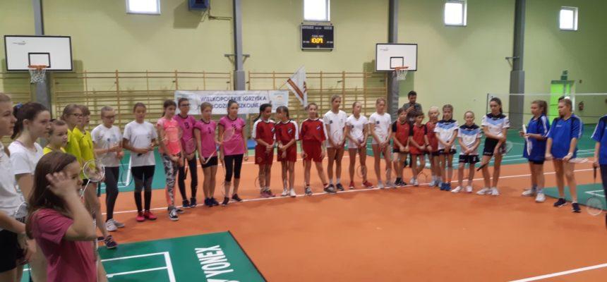 Finał rejonu w drużynowym badmintonie