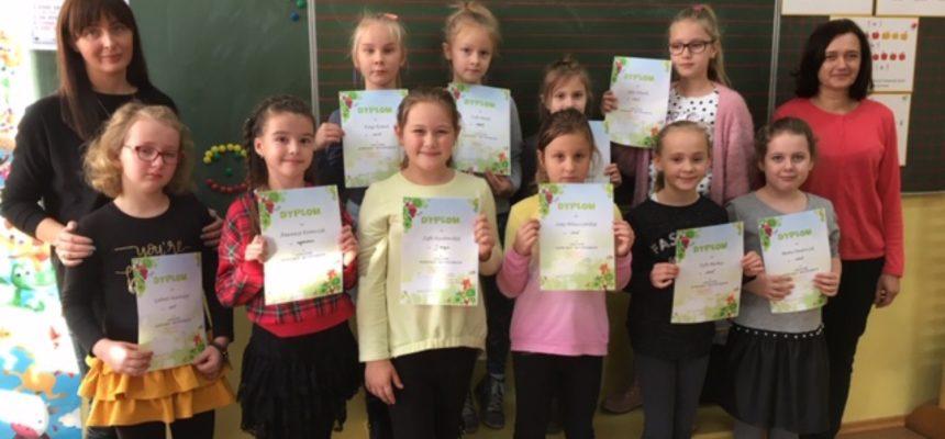 Szkolny i gminny konkurs recytatorski uczniów klas I-III