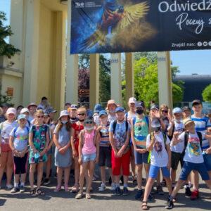 Wycieczka klas IV do ZOO we Wrocławiu