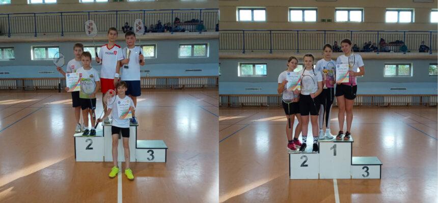 Drużynowe mistrzostwa powiatu w badmintonie w ramach Igrzysk Dzieci